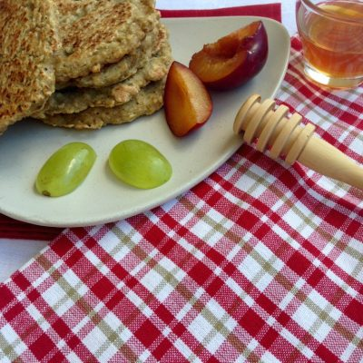 Pancakes au Duo de flocons sans gluten