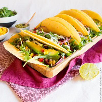Tacos sans gluten à la farine de maïs