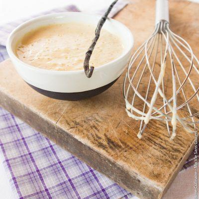 Crème pâtissière vegan et sans gluten