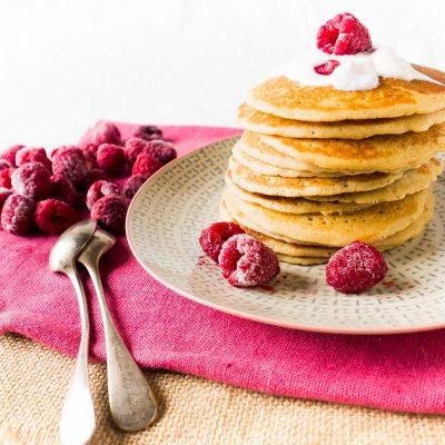 Pancakes sans gluten à la farine de sorgho