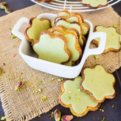 Galettes à la pistache sans gluten