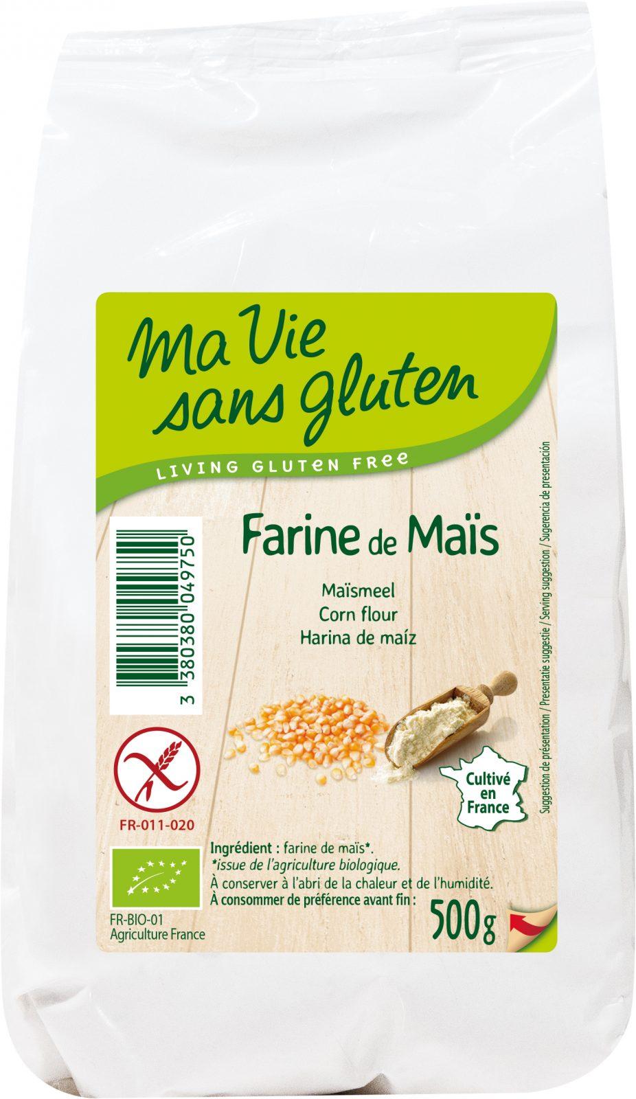 Ma Vie Sans Gluten : farine de maïs