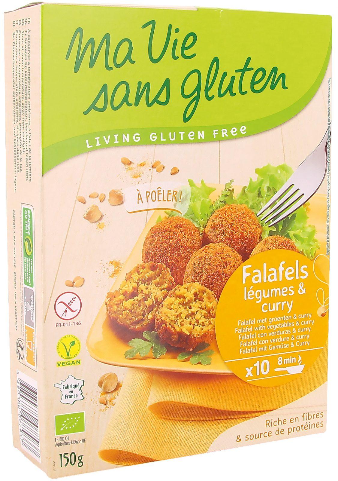 Ma vie sans gluten - Falafels - Falafels au curry - 150g