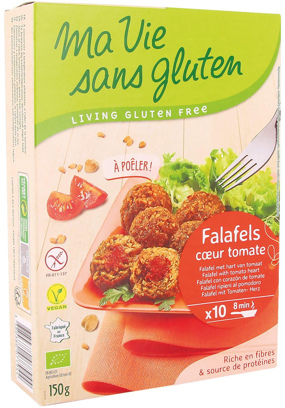 Ma vie sans gluten - Falafels - Falafels coeur tomate - 150g