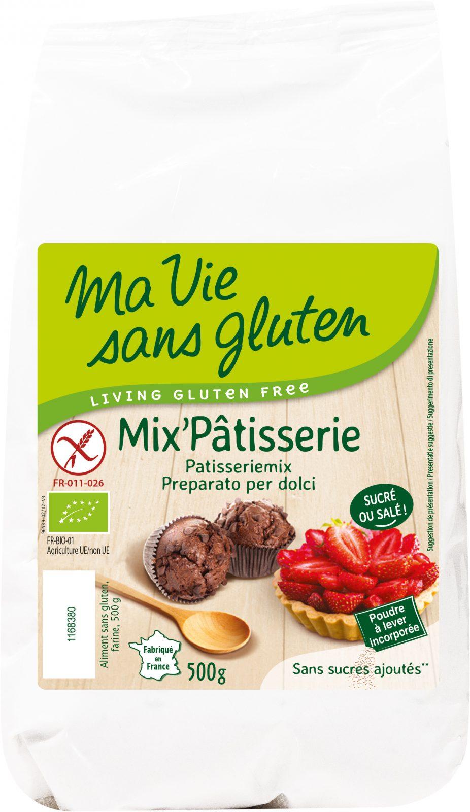 Ma Vie Sans Gluten - Mix'pâtisserie 500g