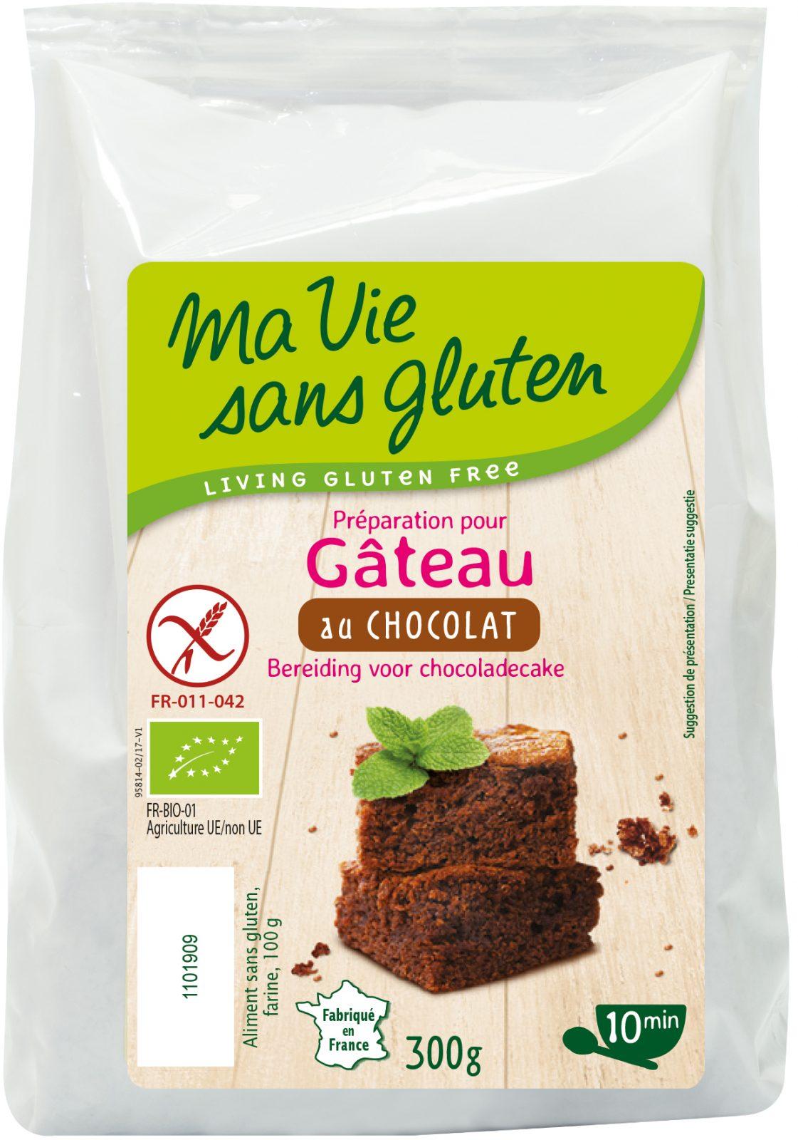 Ma Vie Sans Gluten - Préparation pour Gâteaux - Gâteau au chocolat 300g