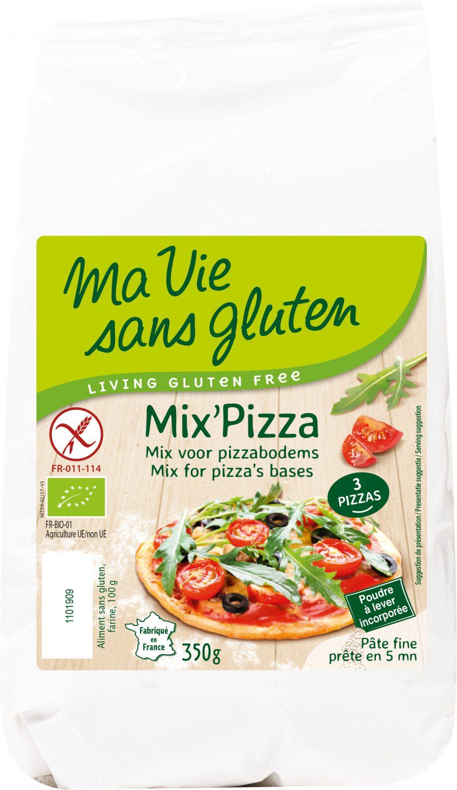 Ma vie sans gluten - Mix Pizza Bio - 350 g