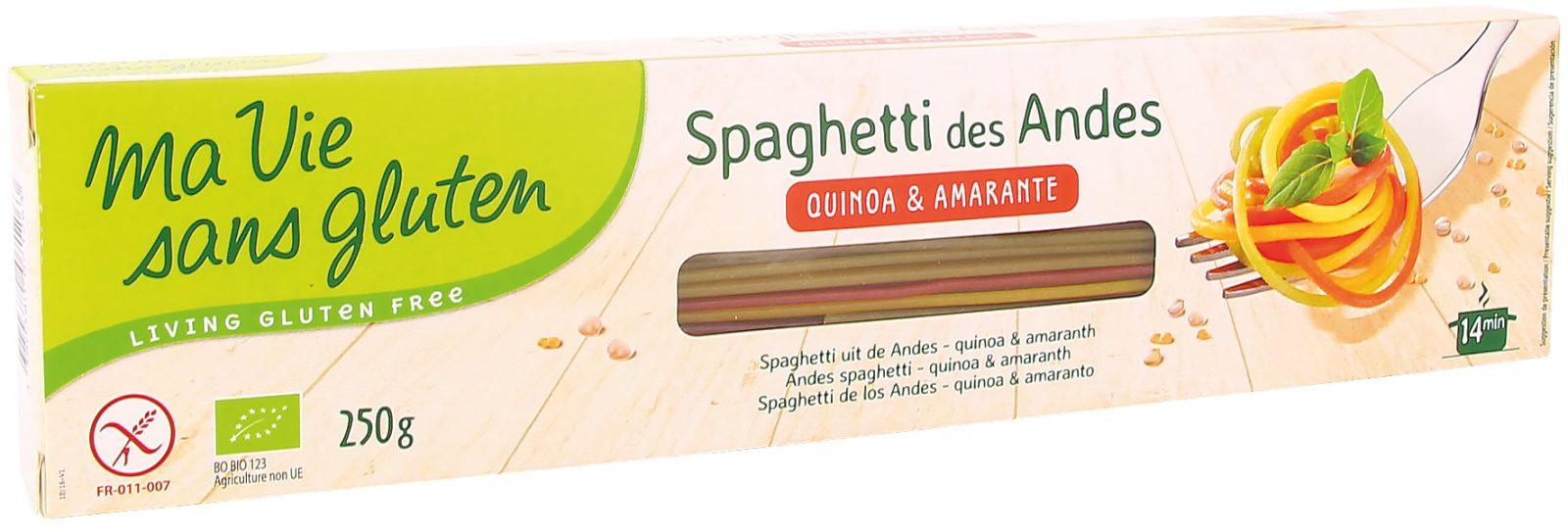 Ma vie sans gluten, spaghetti des Andes