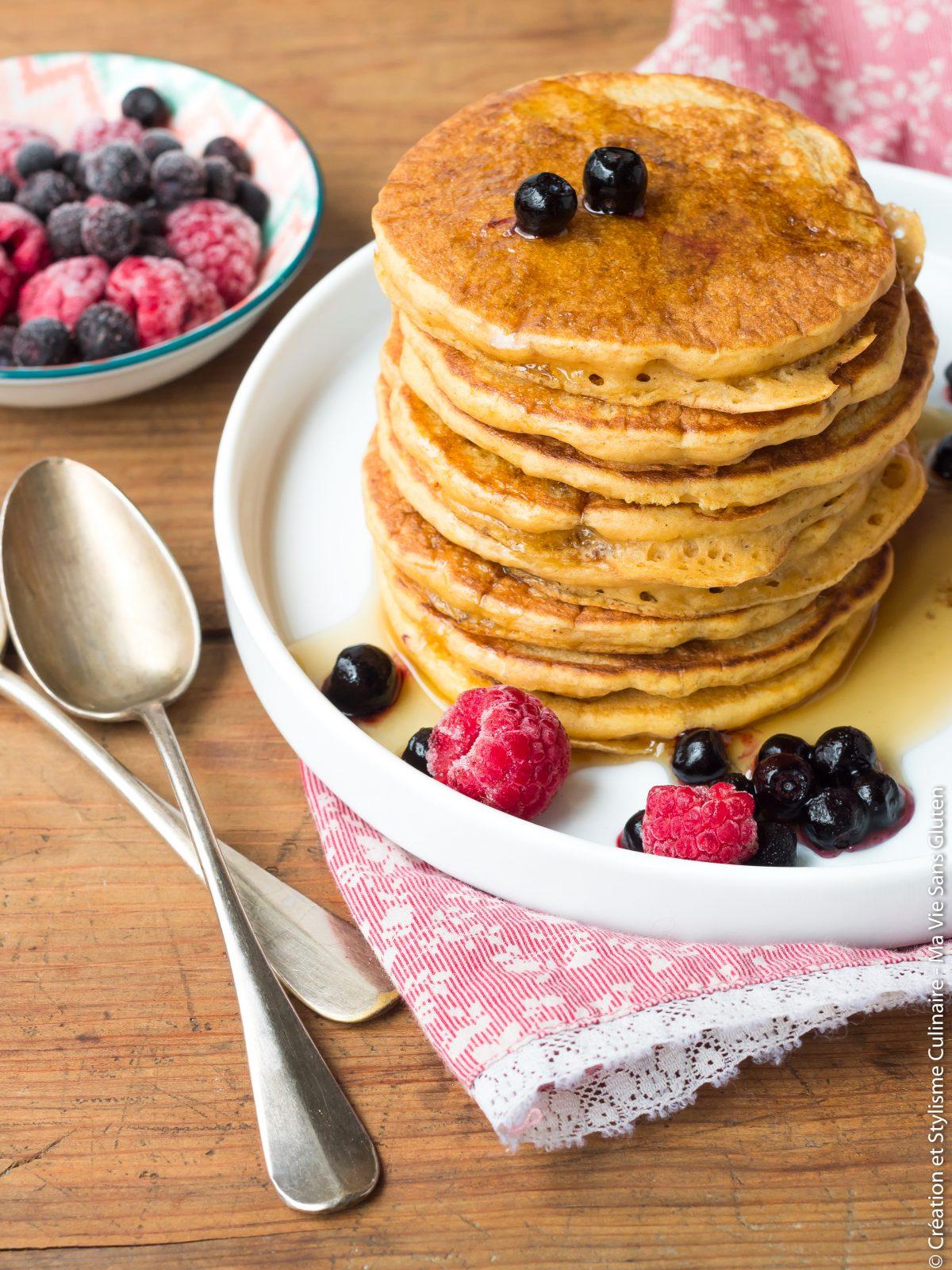 pancakes patate douce
