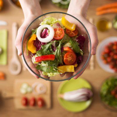 Une alimentation équilibrée entre acide et base