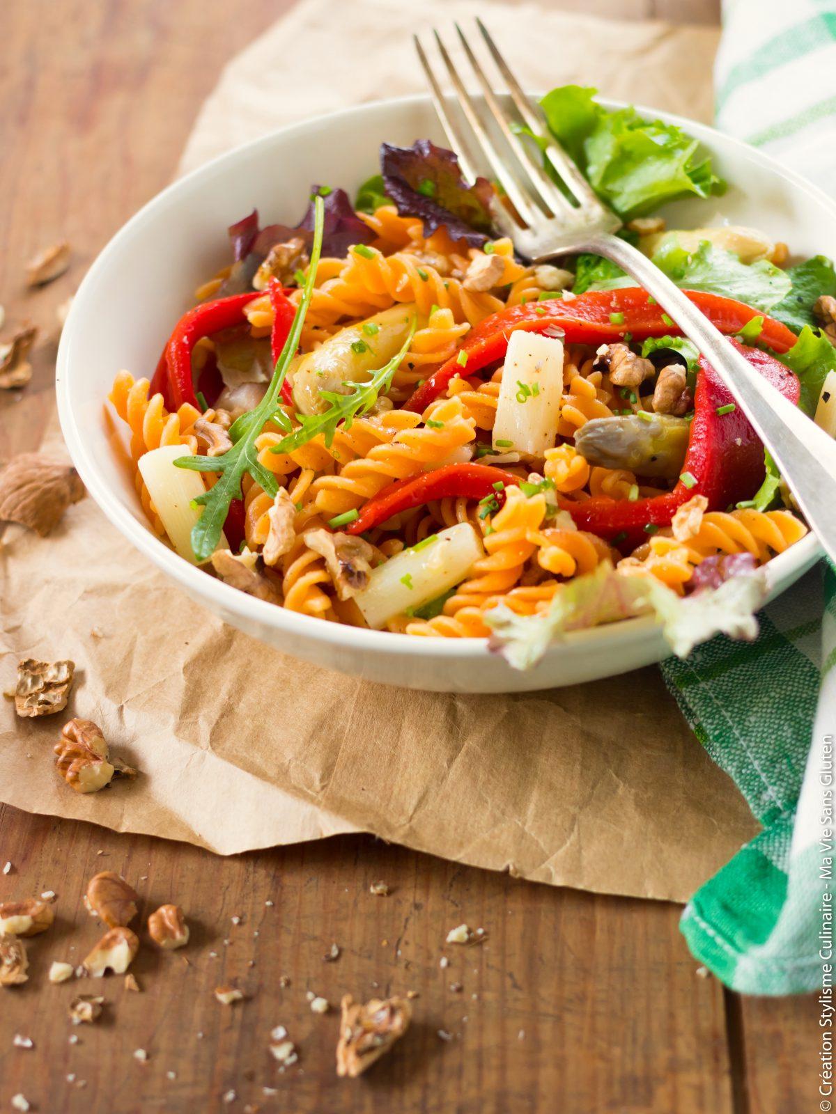 salade de fusili lentilles corail-4
