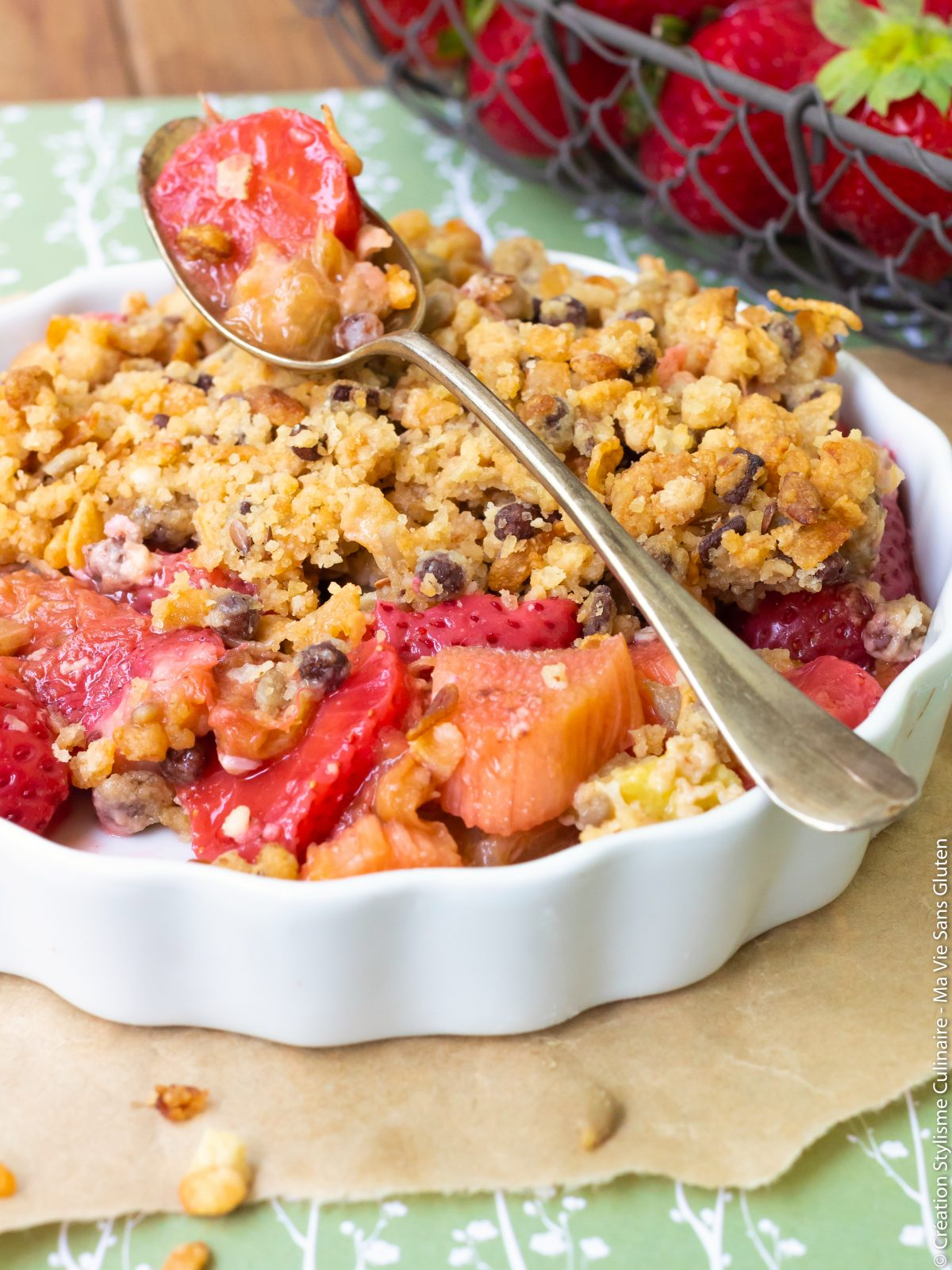 crumble sans gluten fraise rhubarbe-10