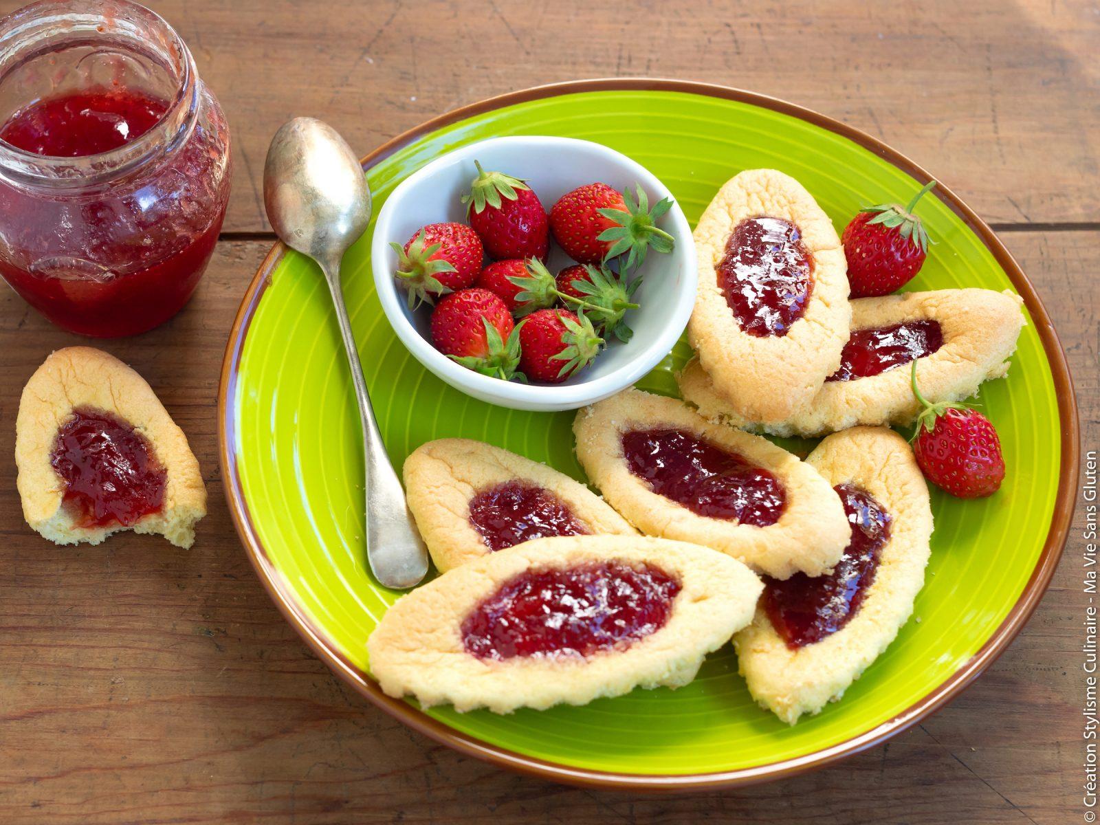 Barquettes sans gluten à la fraise-4