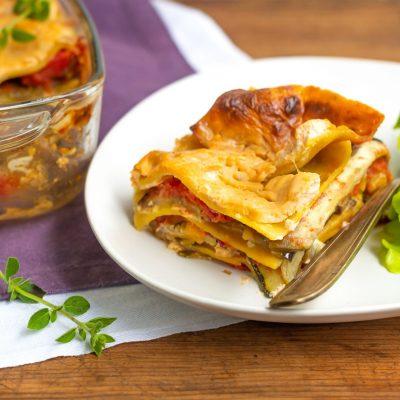 lasagnes sans gluten de légumes grillés-9