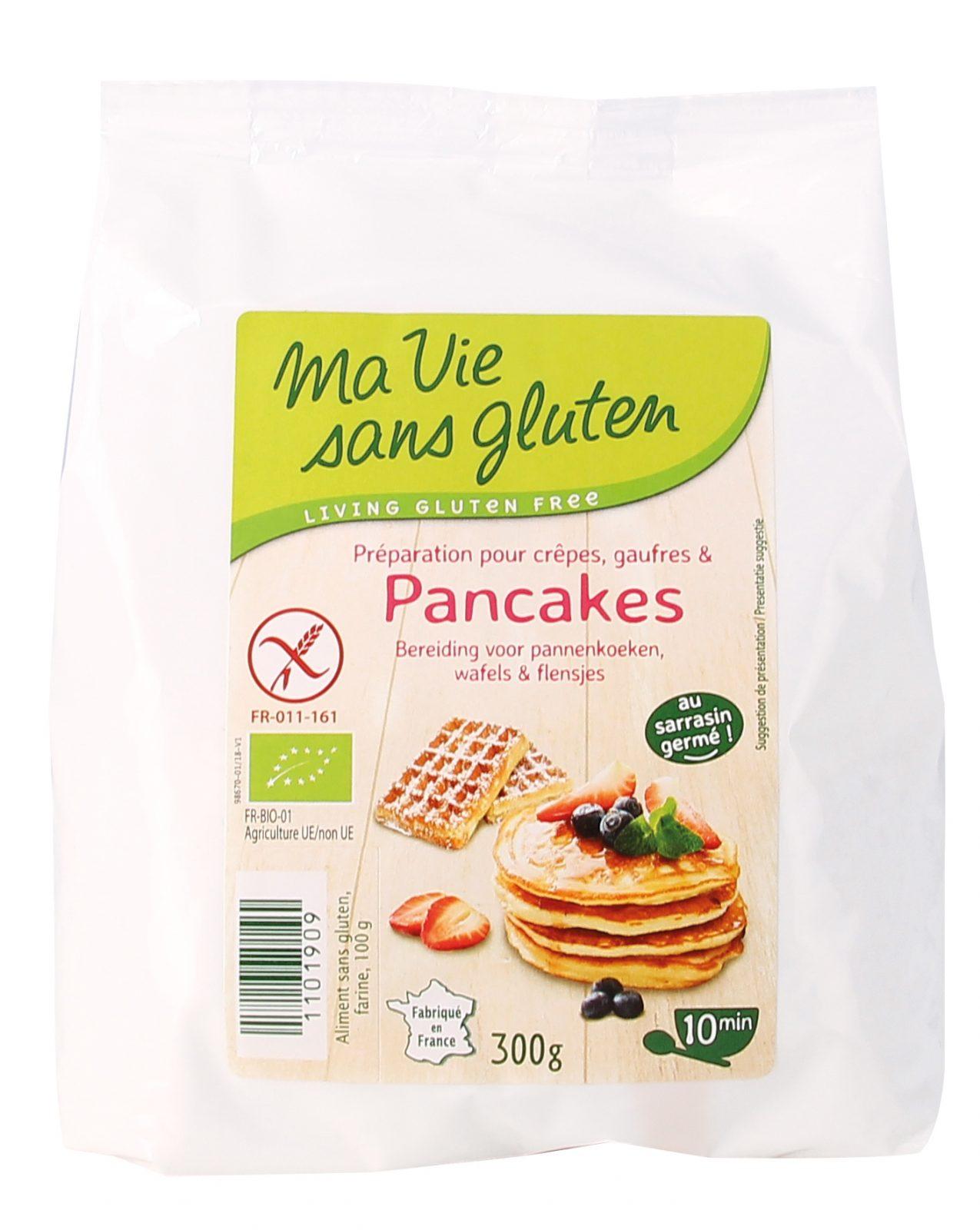 Mix pancake