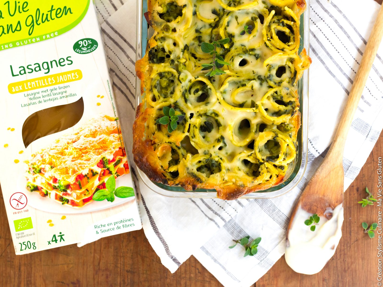 Lasagnes rolls sans gluten aux épinards-4