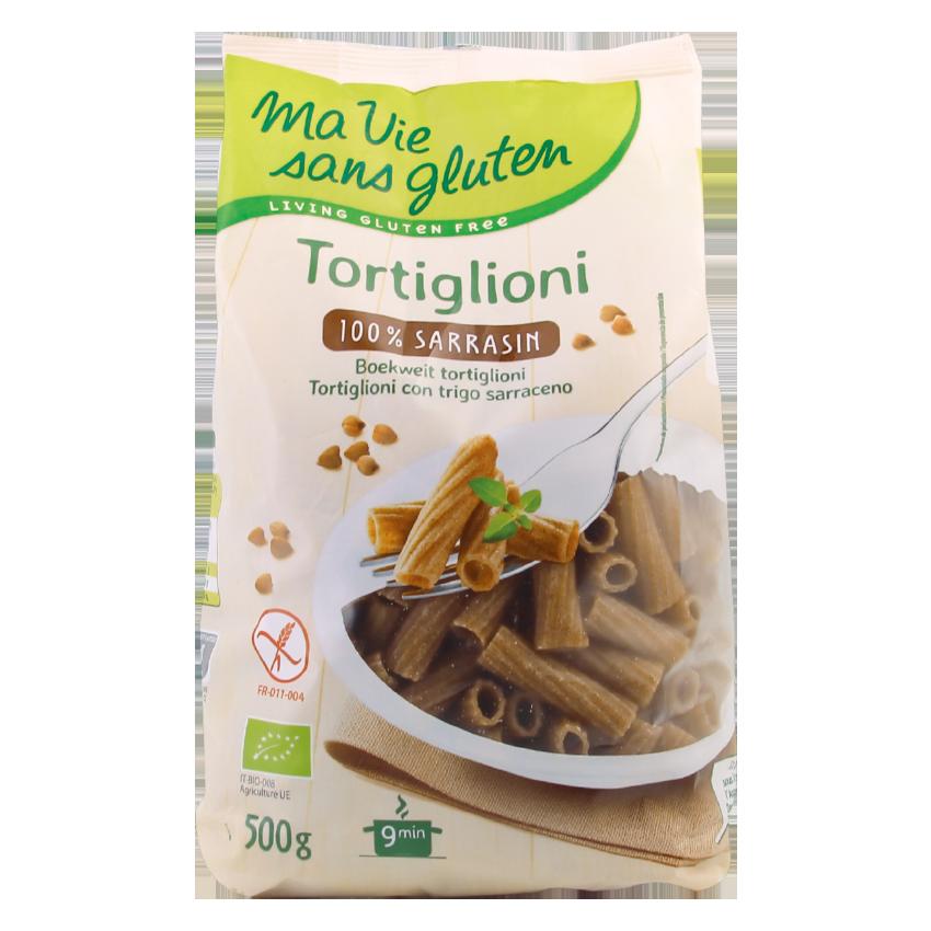 Ma vie sans gluten - Pâtes - Tortiglioni 100% sarrasin 500 g