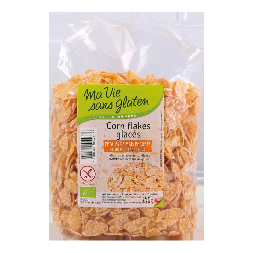 Ma vie sans gluten - p'tit déjeuners sans gluten - Corn flakes glacés 250 g