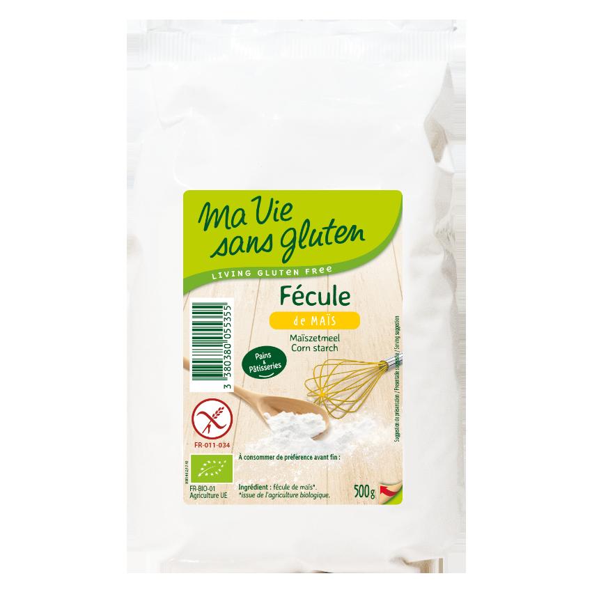 Ma vie sans gluten - Fécule de maïs - Fécule de maïs 500 g