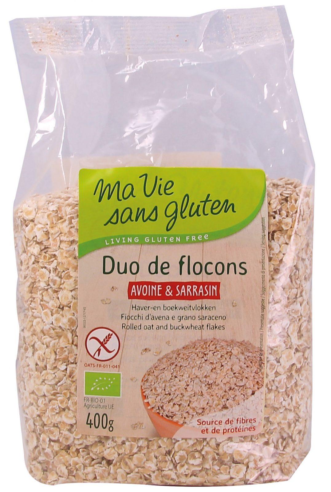 Achat produits bio petit déjeuner sans gluten: flocons avoir et sarrasin pour réaliser de bons porridges !