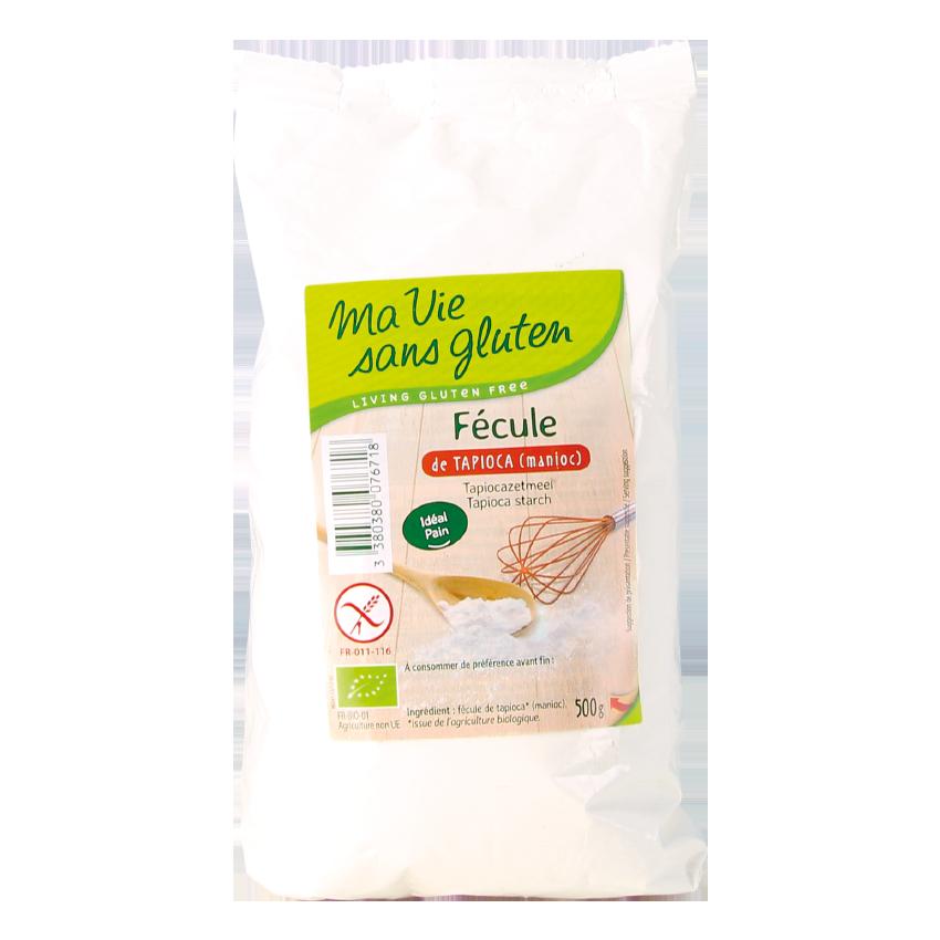 Ma vie sans gluten - Fécule Bio de tapioca - Fécule Bio de tapioca 500 g