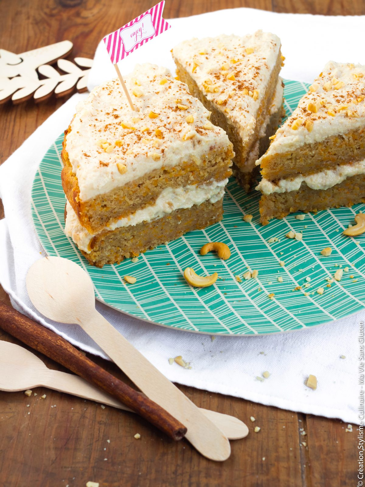 carrot cake vegan-2