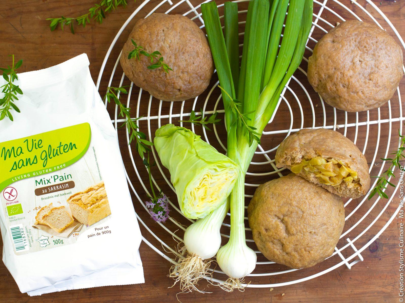 petits pains sans gluten farcis aux légumes-3
