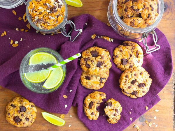 Cookies au muesli chocolat-3