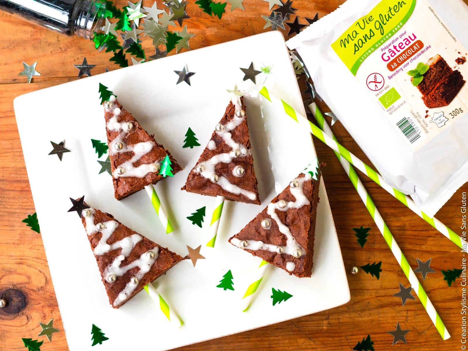 sapin de Noël en chocolat-